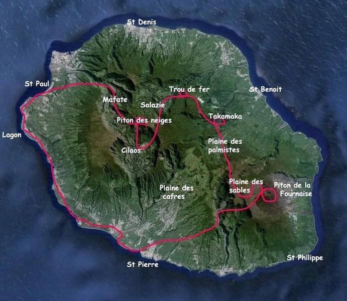 Vol ULM Circuit intégral tour de l'île 1h15