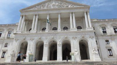 Le palais Sao Bento - Parlement de Lisbonne