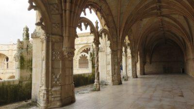 Le cloître du Monastère des Hiéronymites