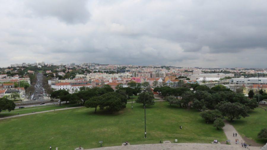 Vue sur Lisbonne depuis la Tour Belem