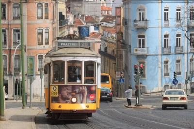 Le tramway de Lisbonne