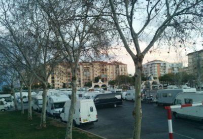 Aire de camping-car de Fuengirola