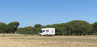 Aire de camping-car de Parador de Mazagon
