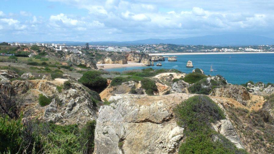 Lagos depuis Ponta da Piedade