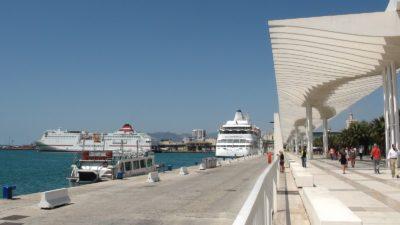 Le port de plaisance de Malaga