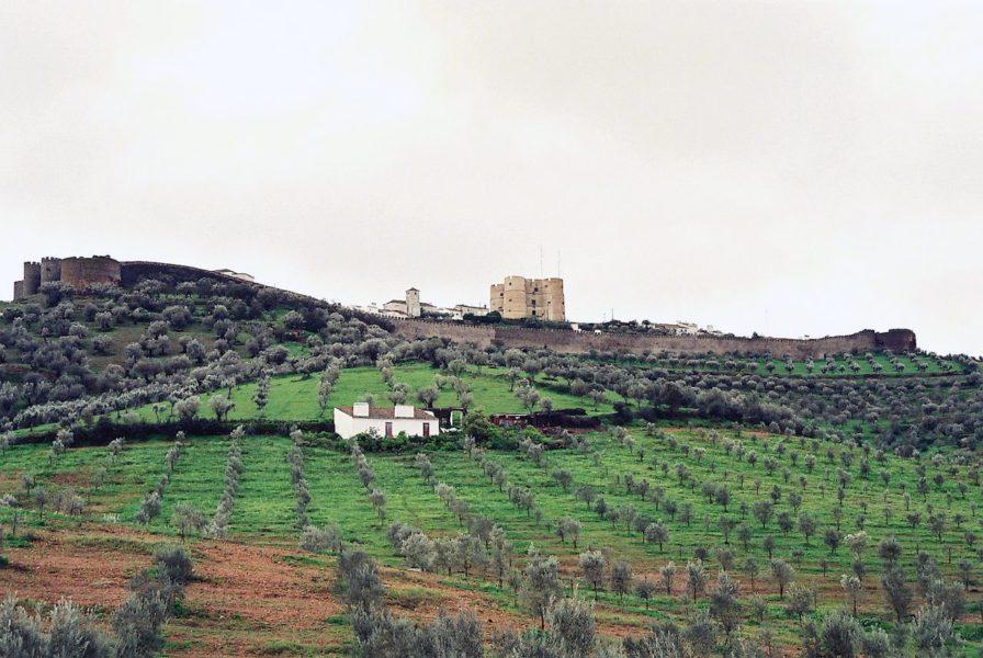 La forteresse et le village d'Evoramonte