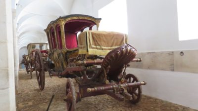 Carosses du palais des ducs de Bragance