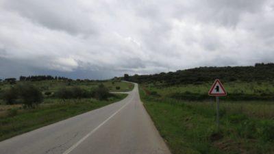 Sur la route entre Vila Viçosa et Monsaraz