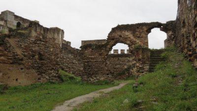 Les ruines du château de Mourao