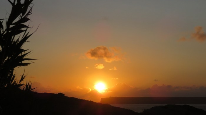 Coucher de soleil sur le Cap St Vincent