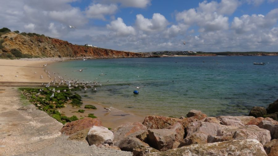 La plage de Sagres