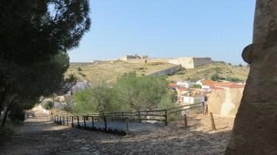 Vue sur la forteresse depuis le château Sao Sebastiao - Castro Marim