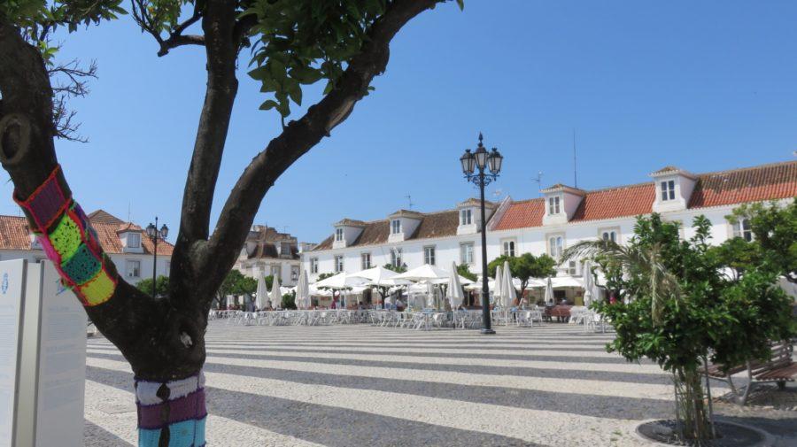 La place centrale de Vila Real de Santo Antonio