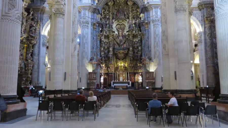 La nef de la cathédrale de Séville