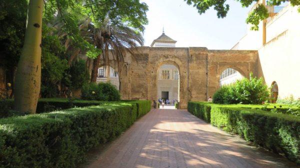 Real Alcazar de Séville - Le patio del Leon