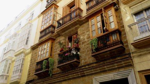 Jolies façades de Cadix