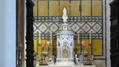 L'église San Antonio à Cadix