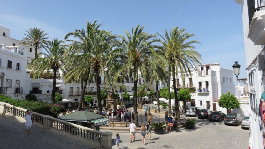 La place d'Espagne à Vejer de la Frontera
