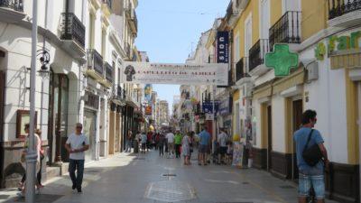 Les rues piétonnes de Ronda