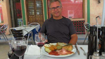Au restaurant à Ronda