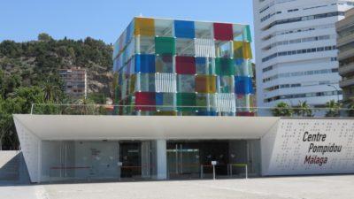 Le centre Pompidou de Malaga (Le cube)