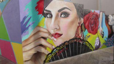 Peinture murale - Malaga