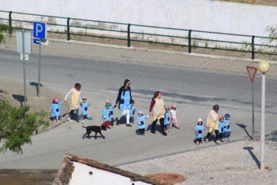 Des petits enfants de Castro Marim