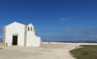 La chapelle Notre Dame de Grâce du fort de Sagres