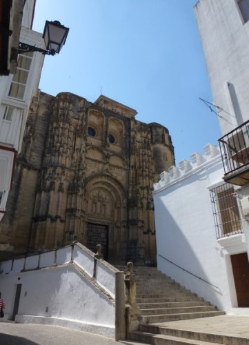 Le château d'Arcos de la Frontera