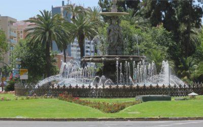 Jet d'eau - Malaga
