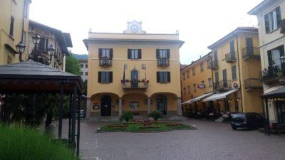 Le centre ville de Baveno