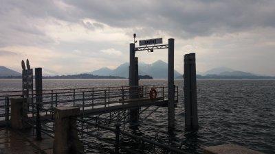 L'embarcadère de Baveno