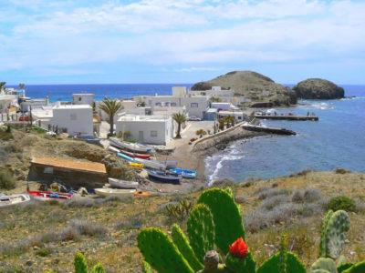 Bord de mer dans le parc de Cabo de Gata