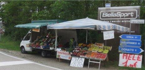Camion primeurs - Vallée d'Aoste
