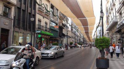 Le centre ville de Grenade