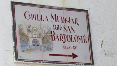Capilla Mudejar de San Bartolomé