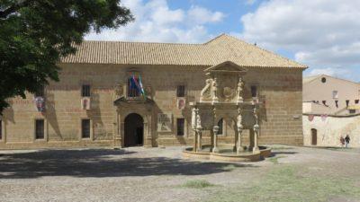 Baeza - plaza de los Leones