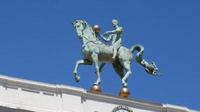 Statue de l'Instant précis - Mairie de Grenade