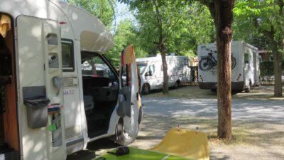 Au camping Suspiro del Moro à Otura