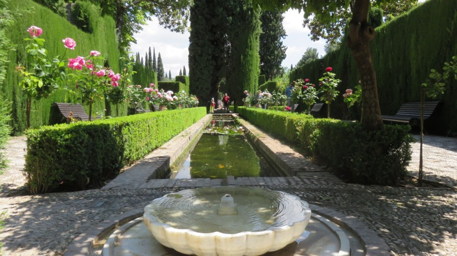 Les bassins de l'Alhambra
