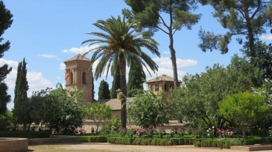 Les jardins de l'Alhambra - Grenade