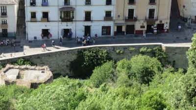 Vue sur les rues de l'Albaicin depuis l' Alhambra