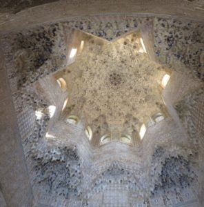 Les plafonds de l'Alhambra