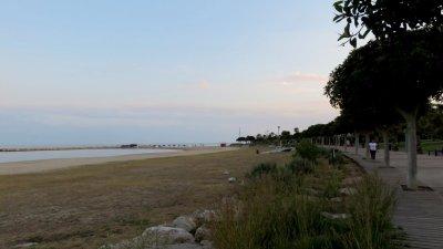 Le bord de mer de Cambrils
