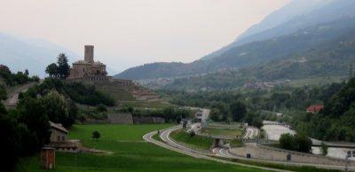 Le château de Sarre - Italie