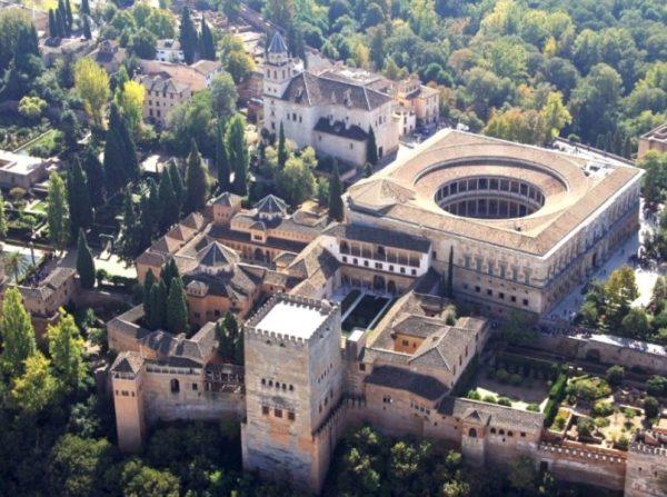 Le palais de Charles Quint - Grenade