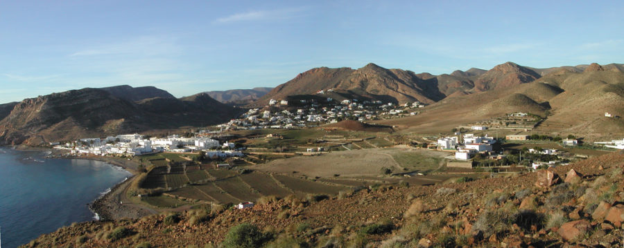 Le parc naturel de Cabo de Gata - Nijar