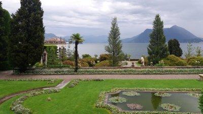 Les jardins d'Isola Bella (îles Borromées)