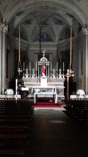 La chapelle du palais d'Isola Bella (îles Borromées)