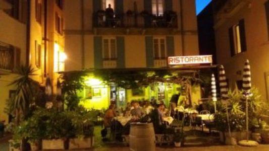 Menaggio - Au restaurant